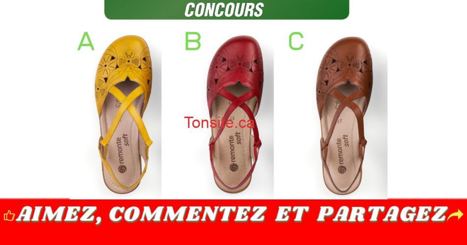 remonte concours2 - Gagnez une paire de chaussures Remonte de votre choix