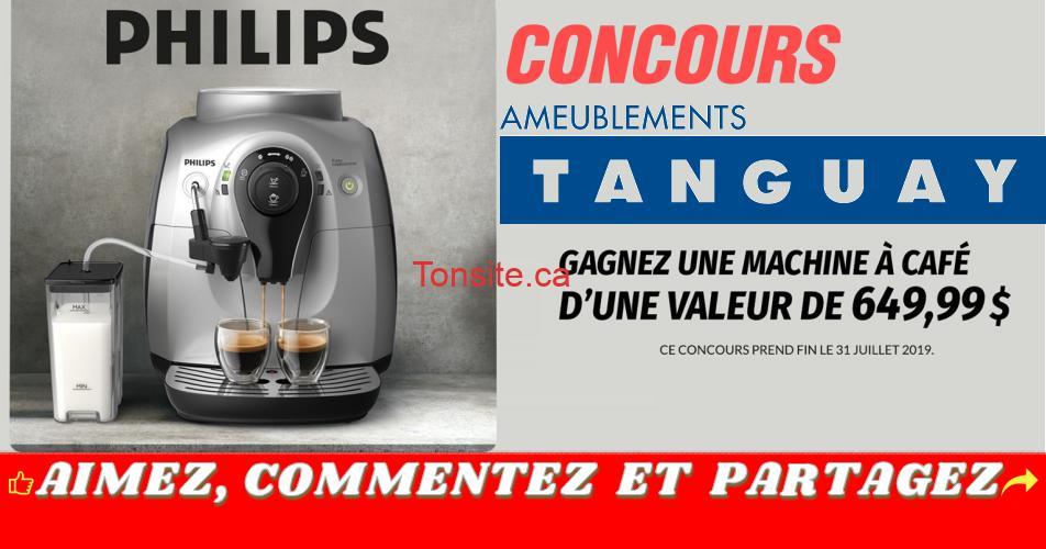 tanguay concours23 - Concours Tanguay: Gagnez une machine à café Philips d'une valeur de 649,99$