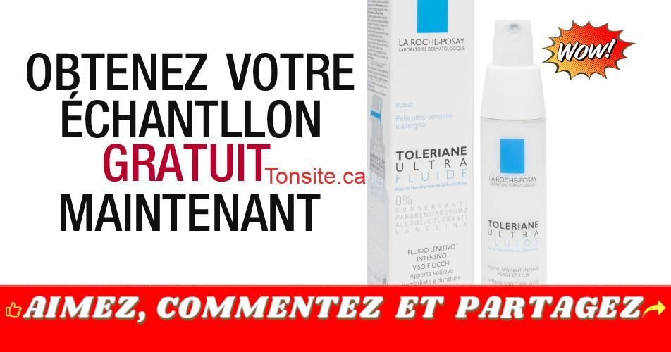 toleriane echantillon4 - GRATUIT: Obtenez un échantillon gratuit de l'Ultra Crème Toleriane de La Roche-Posay