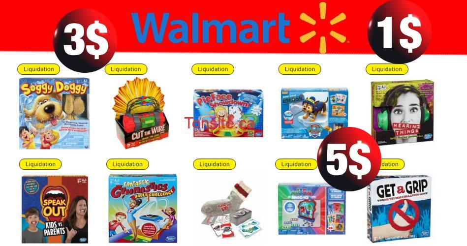 Walmart: Liquidation des jeux de société (à ne pas manquer!)