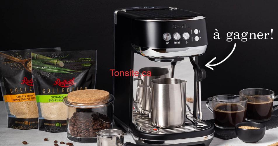 cafe machine concours - Gagnez une machine à espresso haute performance de marque Breville