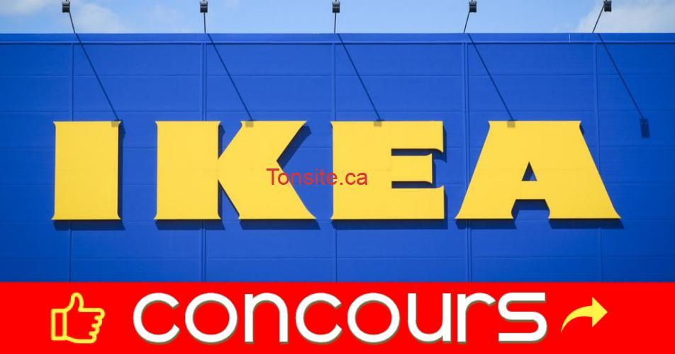 ikea concours - Gagnez 5000$ à dépenser chez IKEA