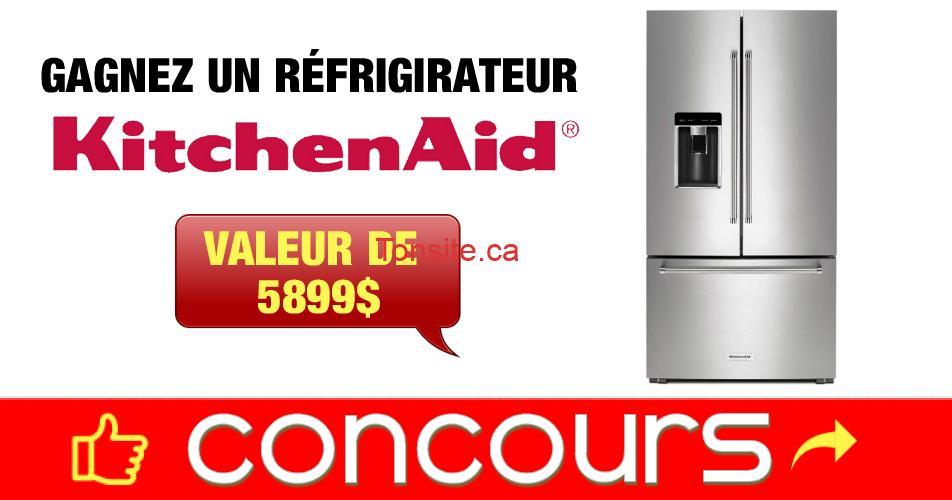 kitchenaid concours6 - Gagnez un réfrigirateur KitchenAid d'une valeur de 5899$