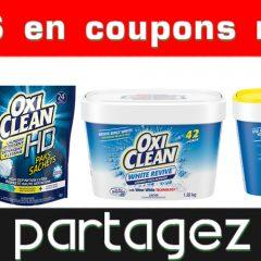 oxiclean coupons 240x240 - Coupons rabais OxiClean