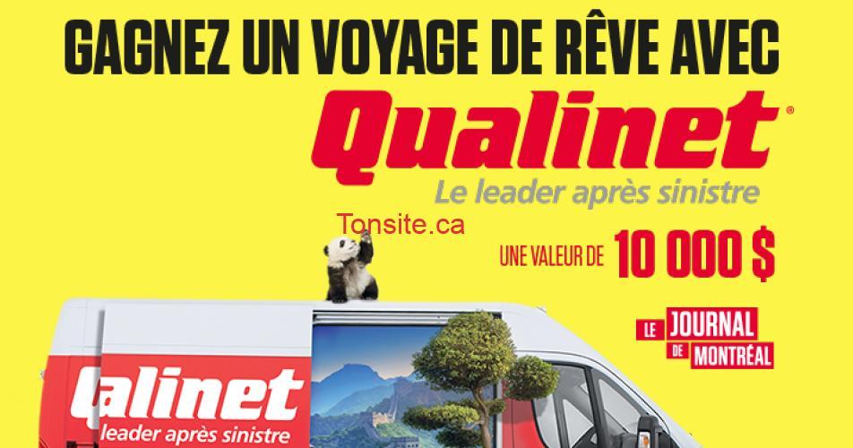 qualinet concours2 - Gagnez un voyage de rêve avec Qualinet d'une valeur de 10,000$