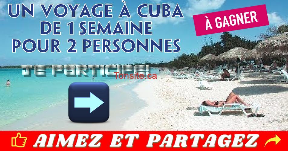 cuba varadero concours - Gagnez un séjour pour 2 à l'hôtel Ocean Vista Azul à Varadero, Cuba