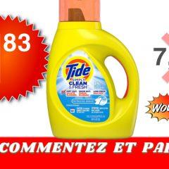 Tide simply 183 799 240x240 - Détergent à lessive Tide Simply Clean & Fresh à 1,83$ au lieu de 7,99$