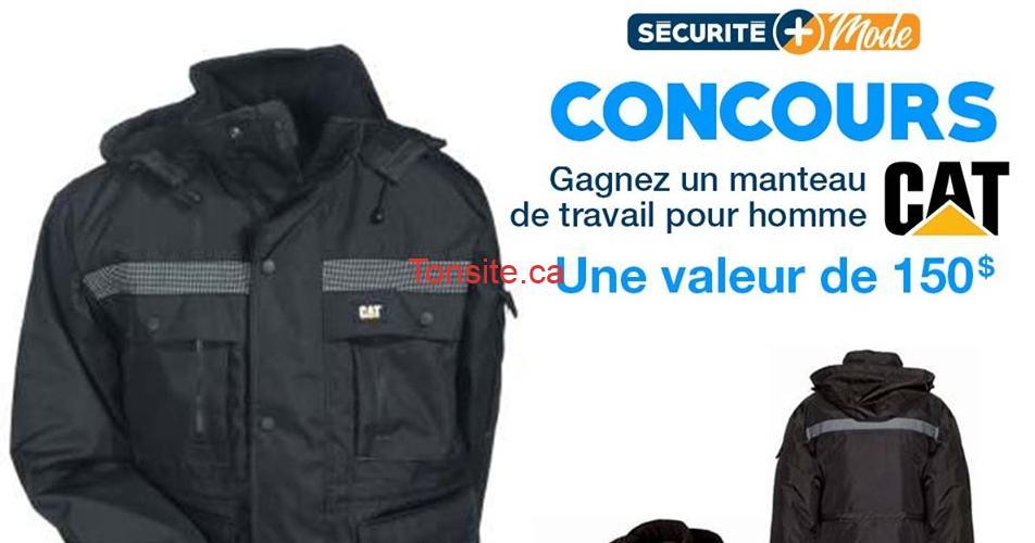 cat manteau - Participez et gagnez un manteau Caterpillar pour l'hiver (valeur de 150$)