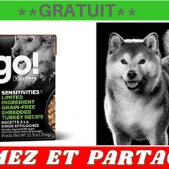 go chien gratuit 240x240 - Obtenez des sacs de nourriture pour chien Petcurean GRATUITS