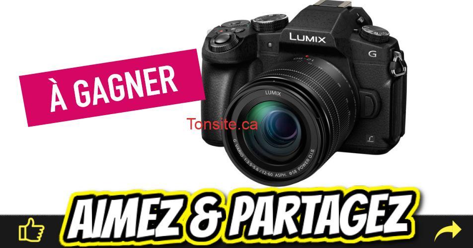 panasonic appareil - Gagnez un appareil photo numérique Panasonic d'une valeur de 900$