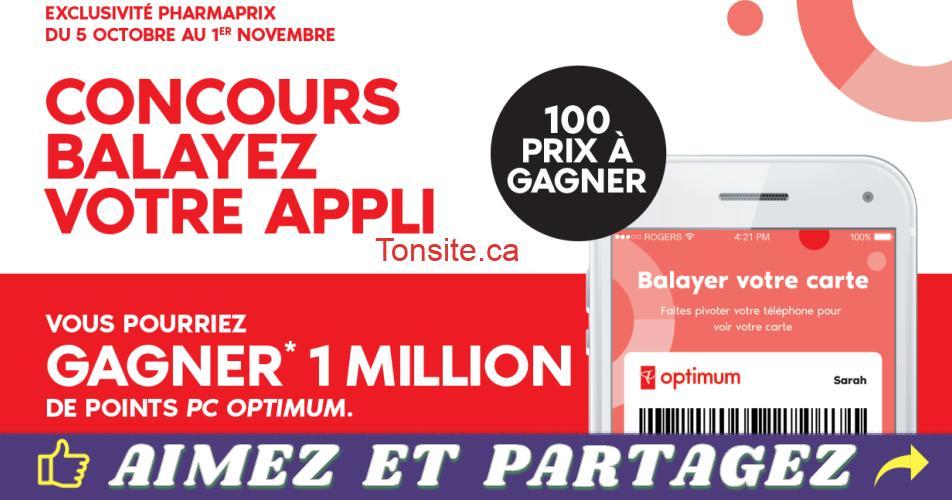 pcoptimum 1million concours - Gagnez 1 million de Points PC Optimum  (100 gagnants)