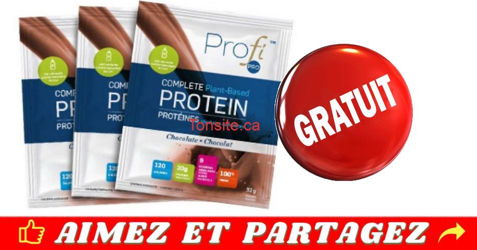 profi echantillon - Obtenez un échantillon gratuit de protéine Profi Pro!