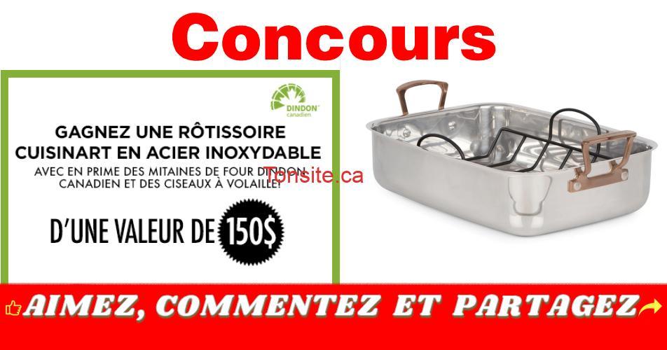 rotisserie concours - Gagnez une rôtisserie Cuisinart en acier inoxydable