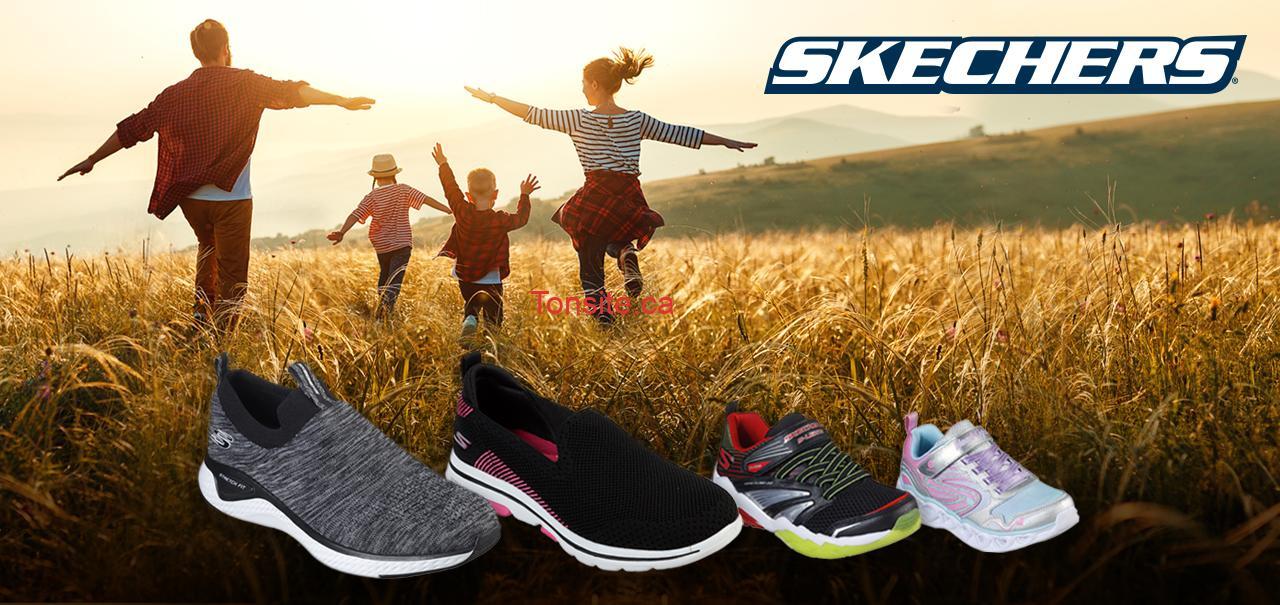 skechers concours - Concours Salut Bonjour: 4 paires de souliers Skechers pour toute la famille à gagner!