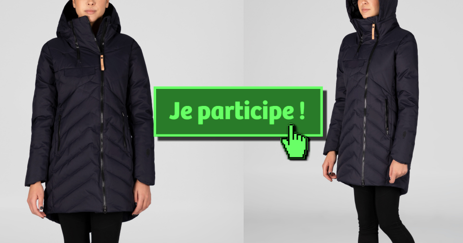 AYABA concours - Participez et gagnez un manteau d'hiver AYABA!