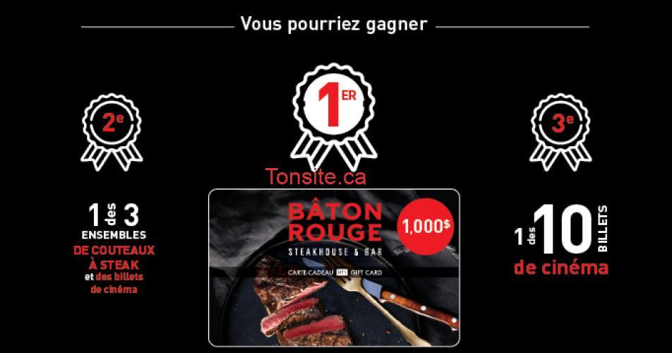 baton rouge concours2 - Gagnez une carte-cadeau de 1000$ de Bâton Rouge
