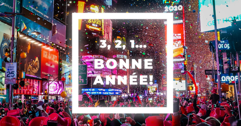 bonneannee2020 - Courez la chance de célébrer le Nouvel An en direct de Times Square à  New York!