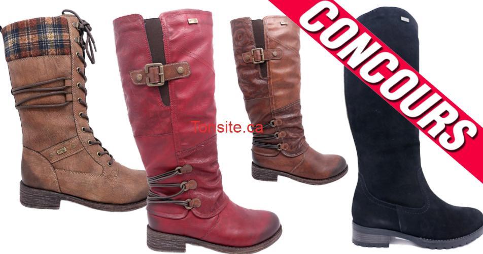 bottes concours3 - Participez et gagnez vos bottes d'hiver Rieker de votre choix