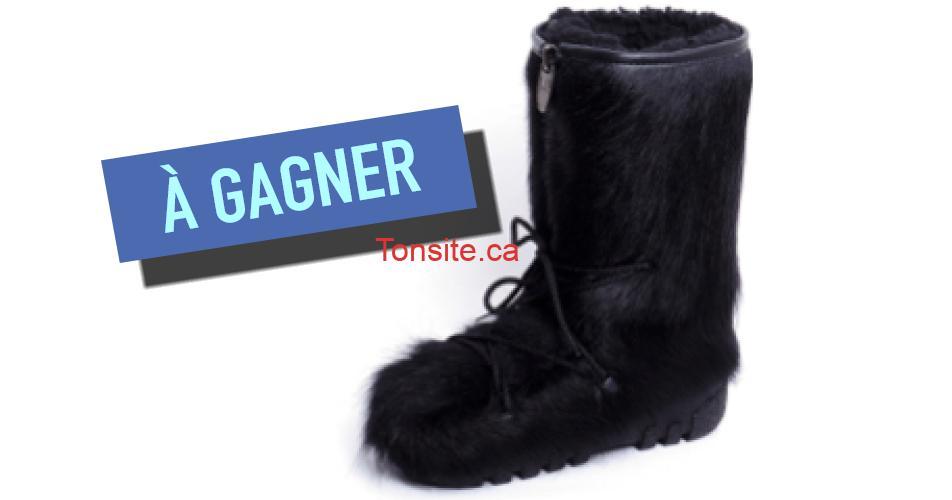 bottes fourrure concours - Gagnez une paire de bottes à poil en vache Bilodeau pour hommes, femmes ou enfants