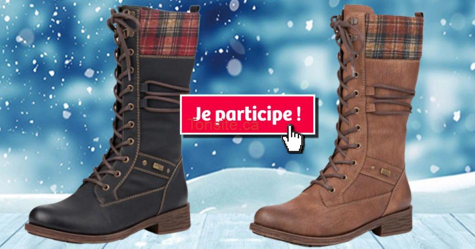 bottes hiver concours4 - Participez et gagnez une paire de bottes Remonte