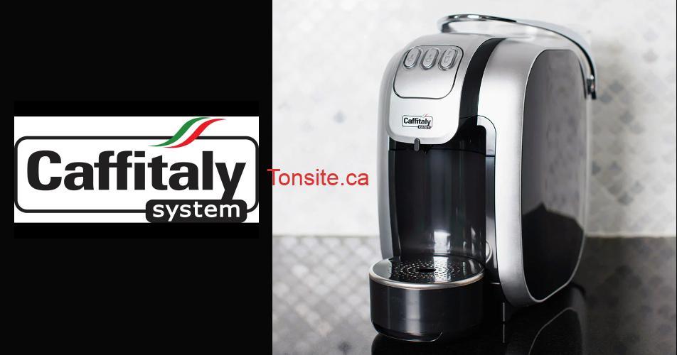 caffitaly concours - Gagnez une machine à espresso Caffitaly (valeur de 245$)