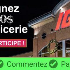iga epicerie 500 240x240 - Gagnez 500$ pour votre épicerie de Noël chez IGA