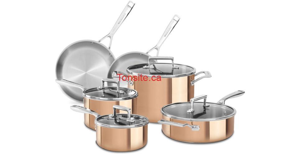 kitchenaid batterie cuivre - Participez et gagnez une batterie de cuisine KitchenAid d'une valeur de 1299,99$