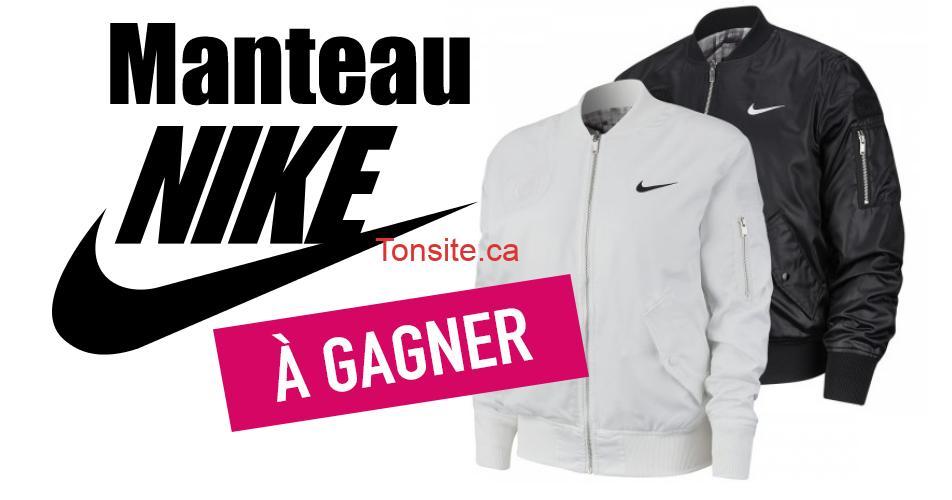 nike concours1 - Participez et gagnez un manteau Nike