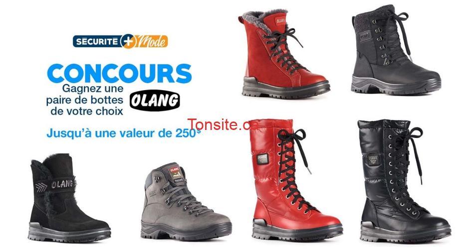 olang 250 - Gagnez une paire de bottes Olang de votre choix jusqu'à une valeur de 250 $