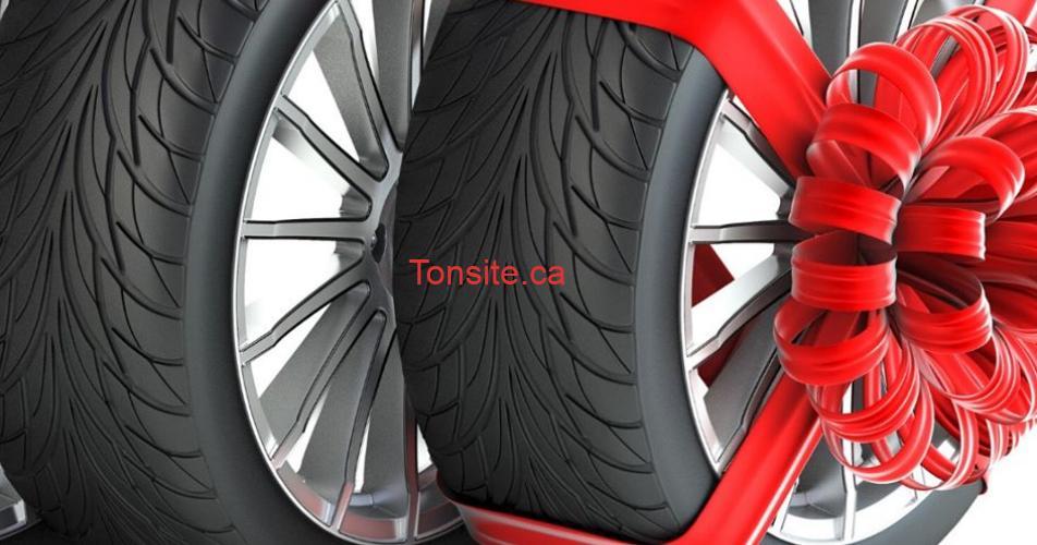 pneus cadeaux - Gagnez 4 pneus d'hivers adaptée à votre véhicule!