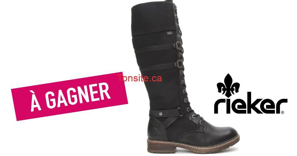 rieker bottes concours2 - Participez et gagnez ces jolies bottes Rieker