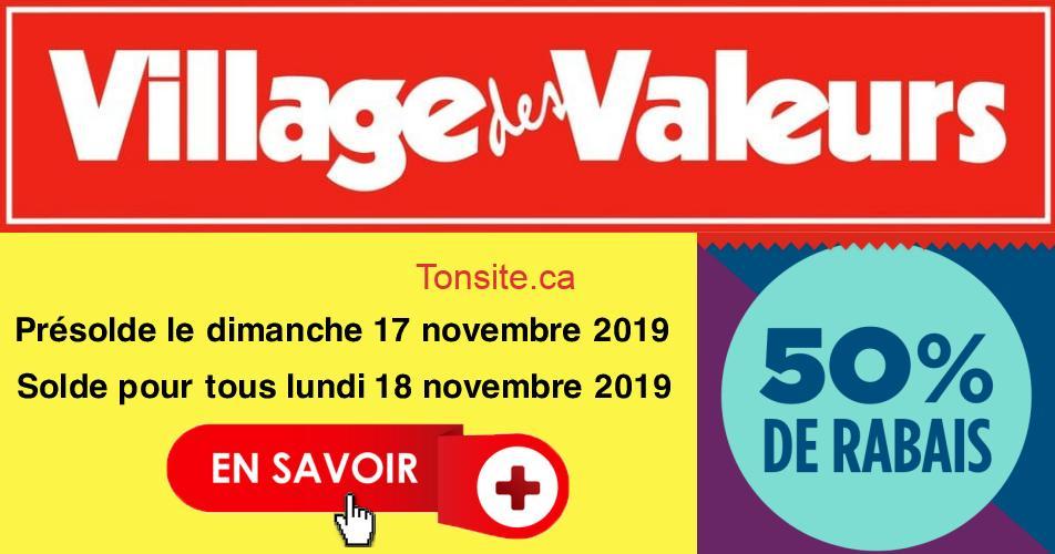 village des valeurs 50 - Village des valeurs: Obtenez 50% de rabais!