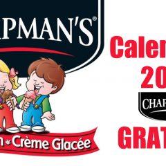 chapmans calendrier2020 240x240 - Obtenez votre calendrier Chapman's 2020 GRATUIT !