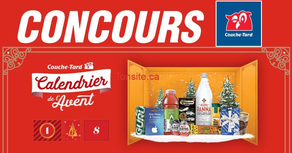 couche tard noel - Concours Calendrier de l'avent de Couche-Tard:  50 prix quotidiens et 129 500 prix instantanés offerts!