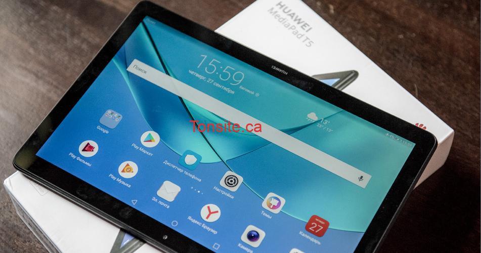 huawei tablette - Gagnez cette merveilleuse tablette Huawei MediaPad T5 16GB Noir