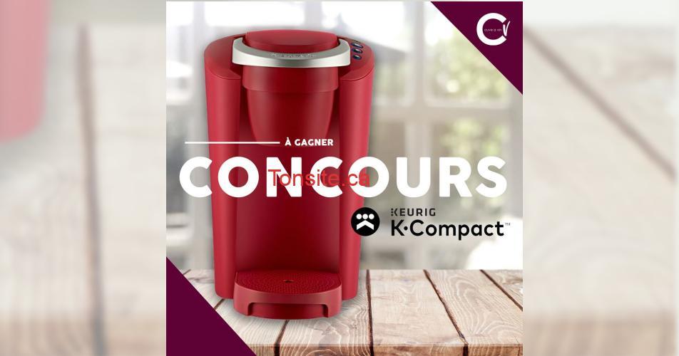 k.compact concours - Participez et gagner une Keurig K-Compact