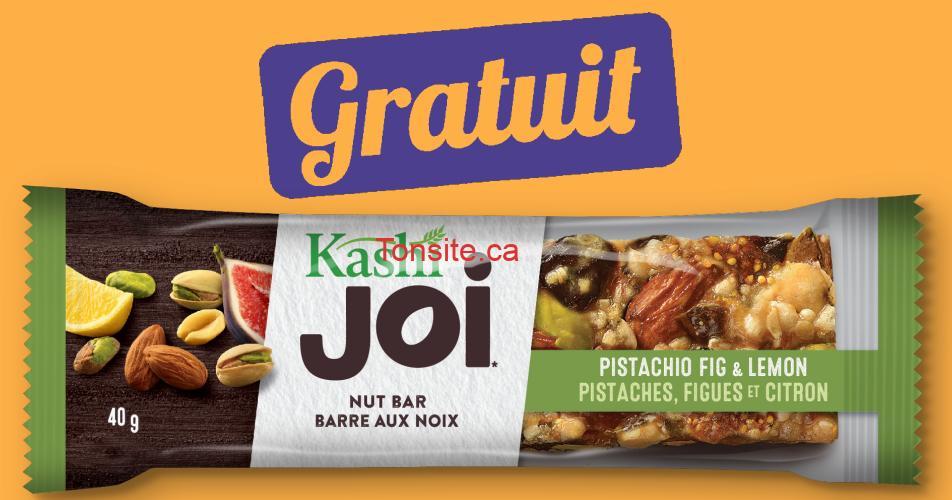 kashi gratuit - Obtenez une barre Kashi JOI GRATUITE!