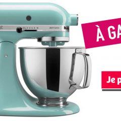 kitchenaid artisan 240x240 - Participez et gagnez un mélangeur sur socle Artisan de KitchenAid