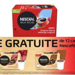 nescafe gratuit 240x240 - Obtenez une boîte de 12 capsules de café Nescafé Gold au choix!