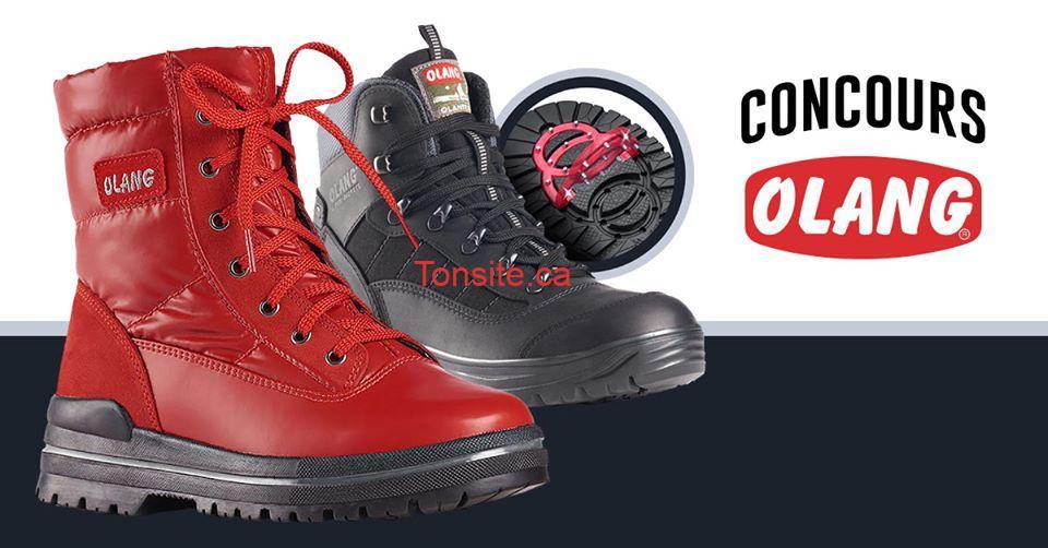 olang off - Gagnez 2 paires de bottes à crampons de la marque Olang