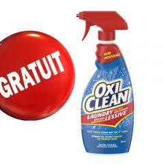 oxiclean gratuit1 240x240 - Obtenez GRATUITEMENT un détachant à lessive en vaporisateur OxiClean (650 ml)