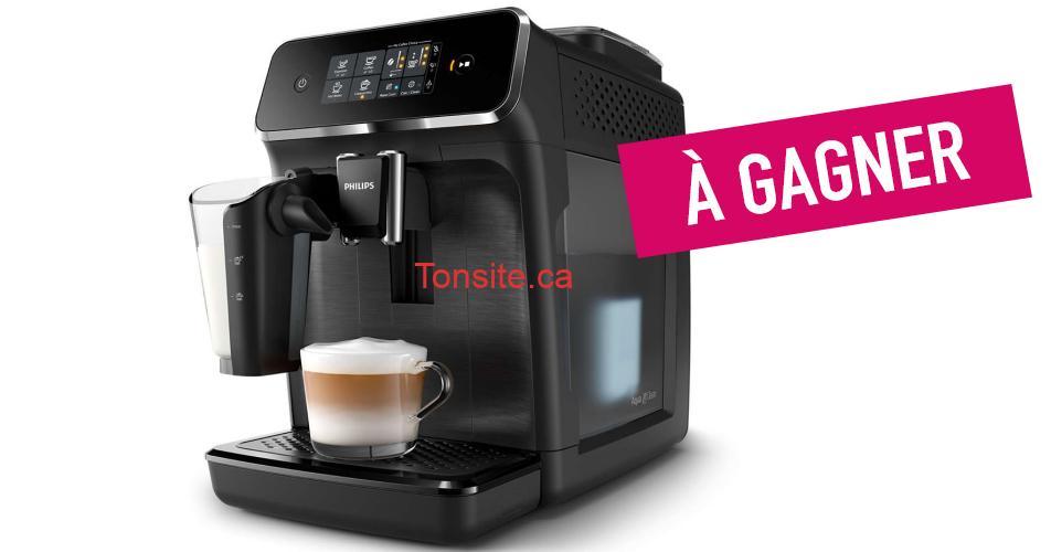 phillips concours - Participez et gagnez une machine a Espresso LatteGo de Philips + 2kg de café