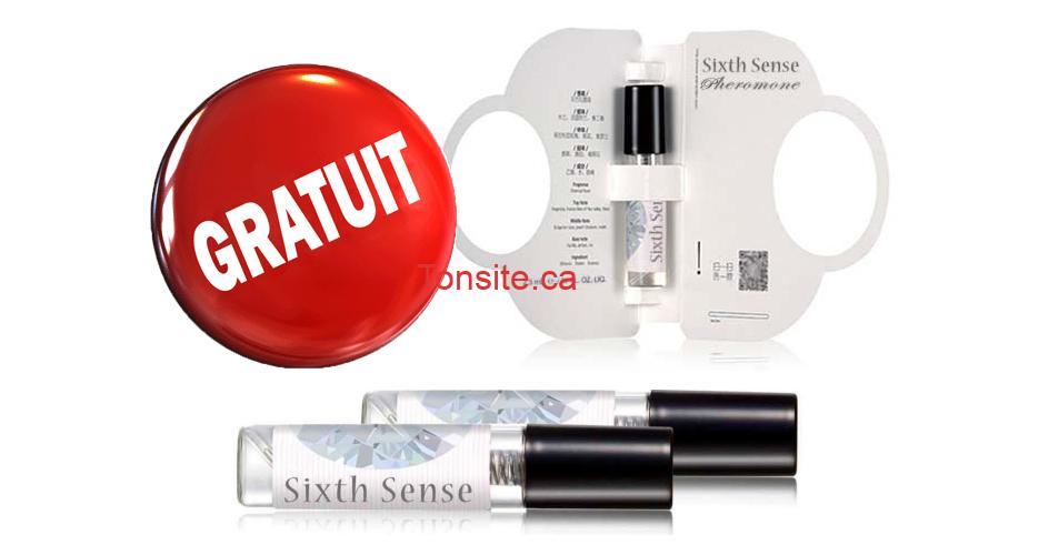 sixth sense gratuit - Obtenez un échantillon gratuit du nouveau parfum Sixth Sense Pheromone