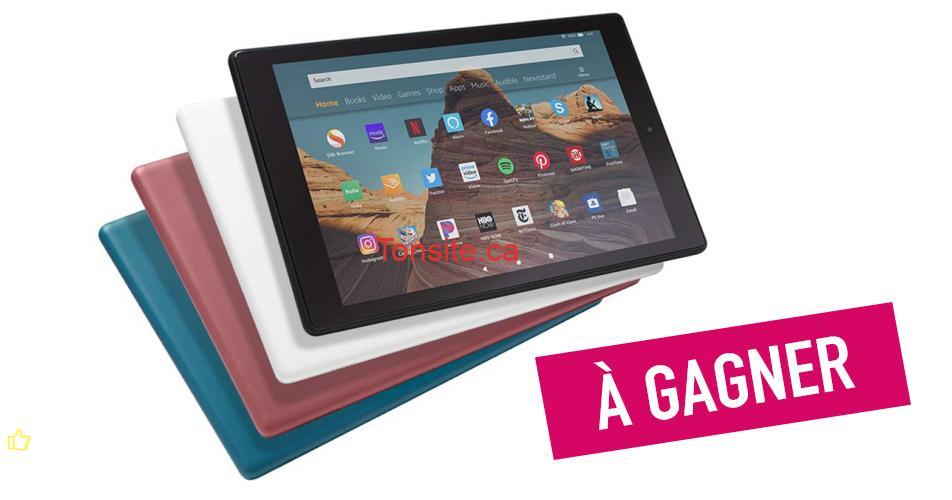 tablette fire concours - Gagnez la nouvelle tablette tactile Fire HD 10