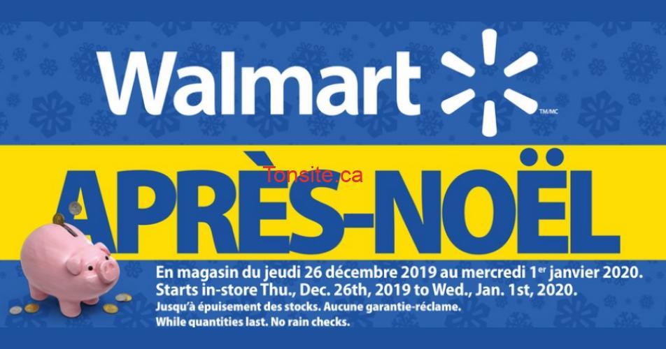 walmart apres noel 2019 - Aubaines de L'Après-Noël 2019 chez Walmart