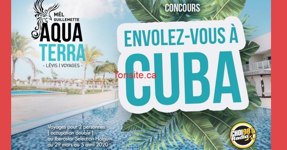 cuba radiox - Gagnez un voyage pour 2 personnes en occupation double au Iberistar Selection Holguin à Cuba