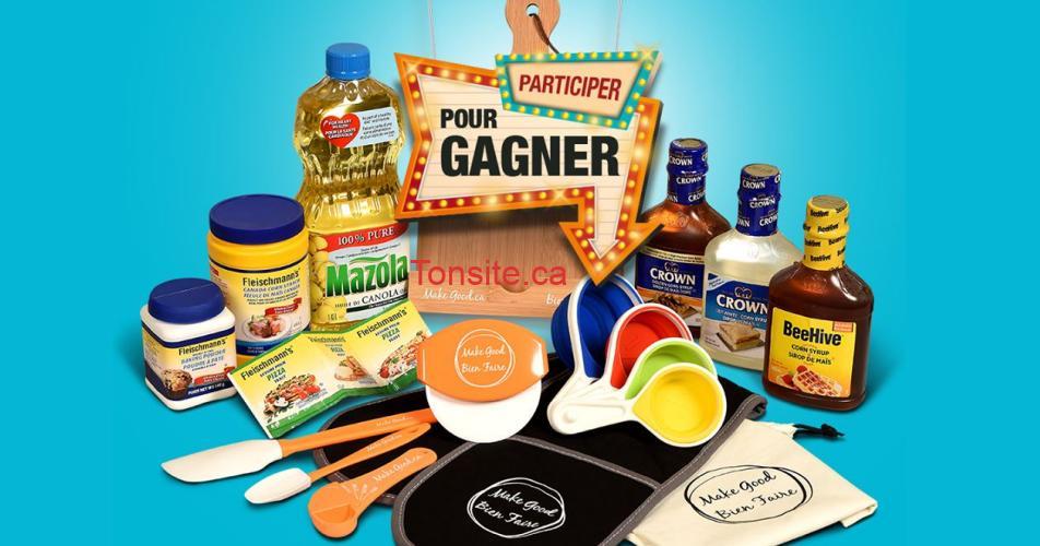 essentiels cuisine - Gagnez cet ensemble cadeau d'essentiels de la cuisine