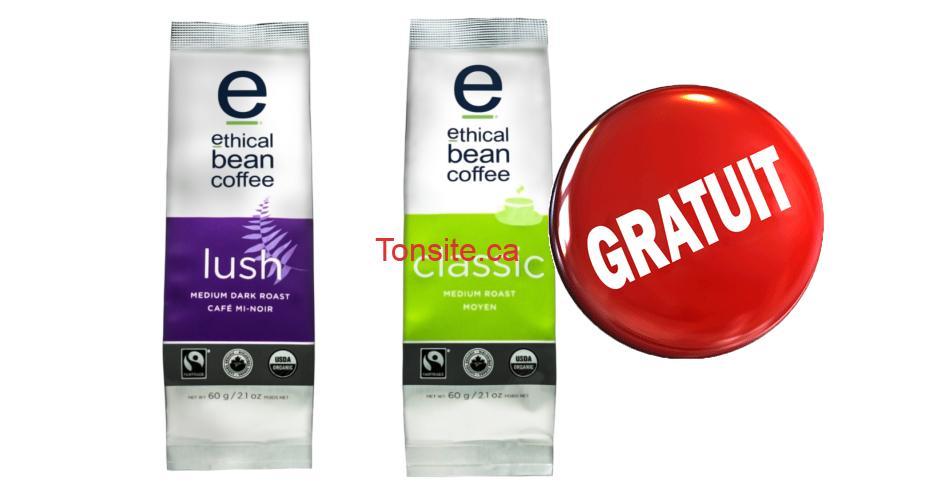 ethical cafe gratuit 1 - Obtenez un échantillon GRATUIT du nouveau Café Ethical Bean