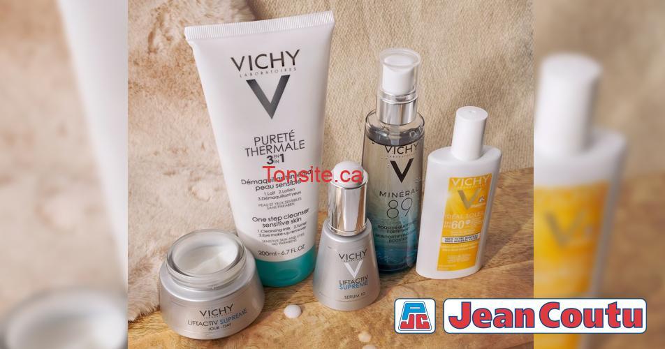 jean coutu concours - Concours Jean Coutu: Gagnez une gamme de produits Vichy