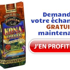 kona gratuit 240x240 - Obtenez un échantillon gratuit du nouveau café Kona